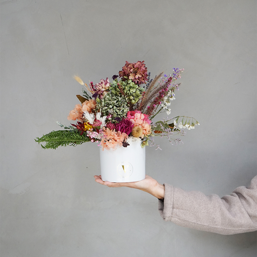 Dried Flowers In A Pot Floral Arrangements Flowers Plants V By Vie